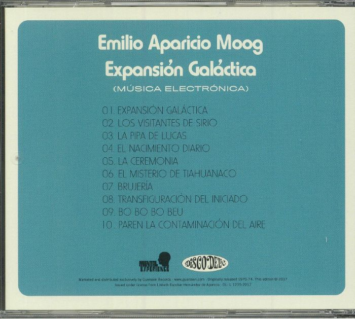 EMILIO APARICIO MOOG - Expansion Galactica (remastered)