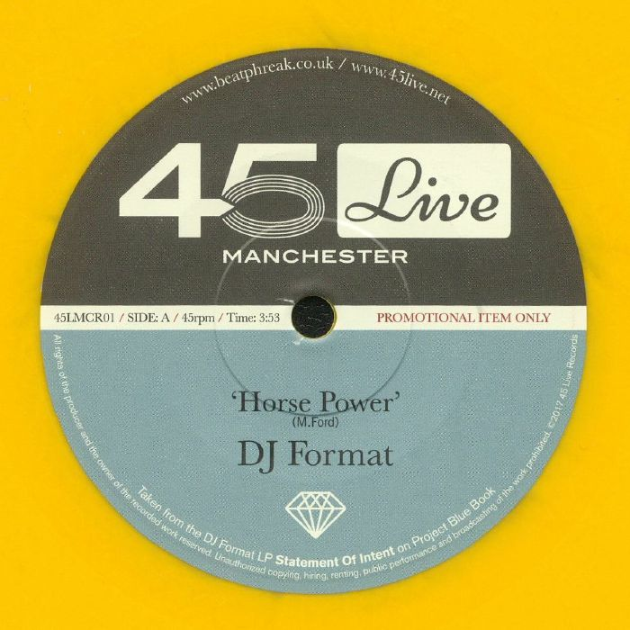 DJ FORMAT/BOCA 45 - Horse Power