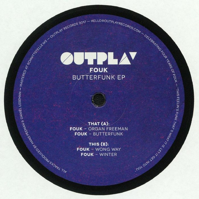 FOUK - Butterfunk EP