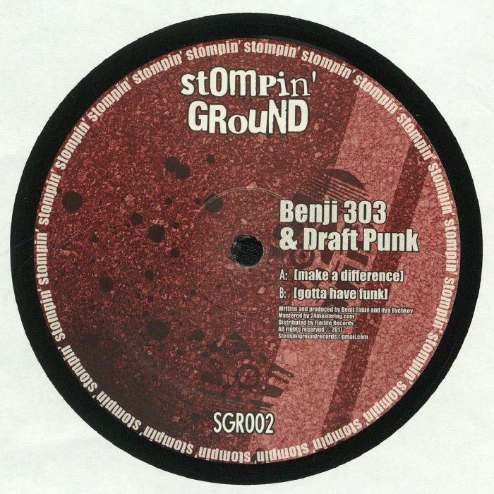 BENJI 303/DRAFT PUNK - Make A Difference