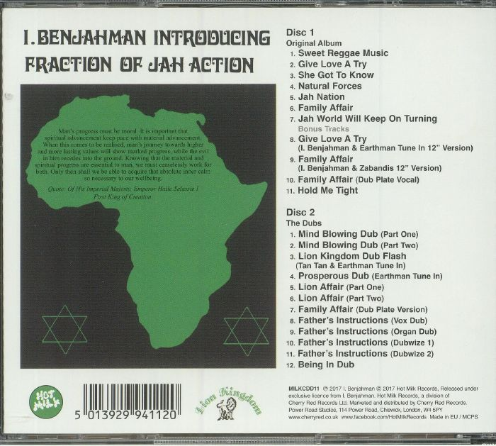 I BENJAHMAN - Fraction Of Jah Action (Expanded Edition)