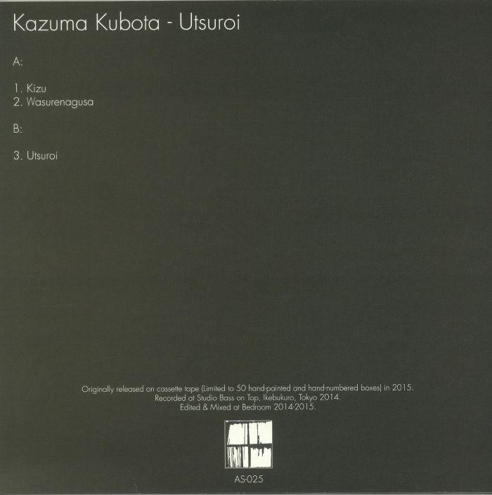 KUBOTA, Kazuma - Utsuroi