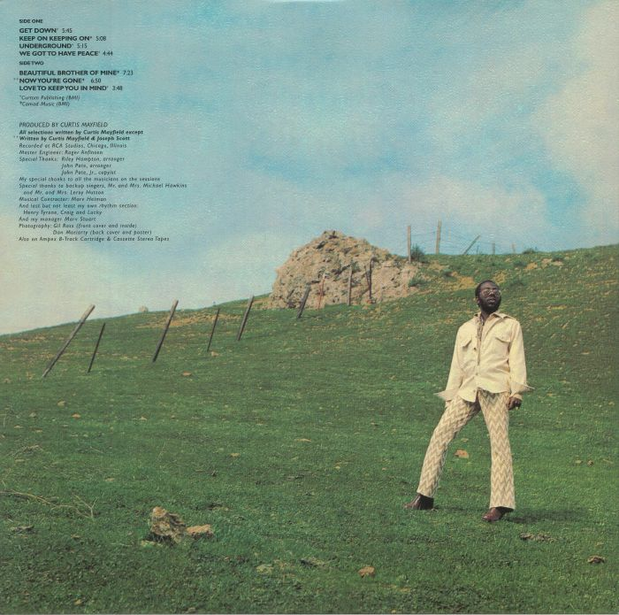 MAYFIELD, Curtis - Roots (reissue)