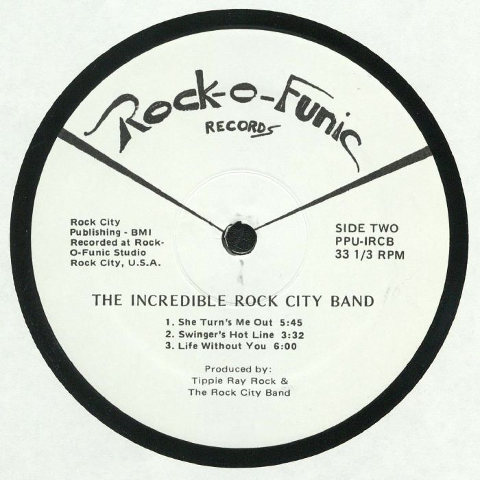 INCREDIBLE ROCK CITY BAND, The - Invasion Of The Rock O Mites