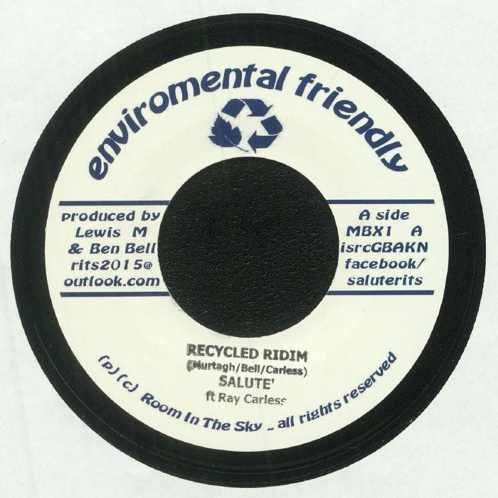 SALUTE feat RAY CARLESS - Recycled Riddim