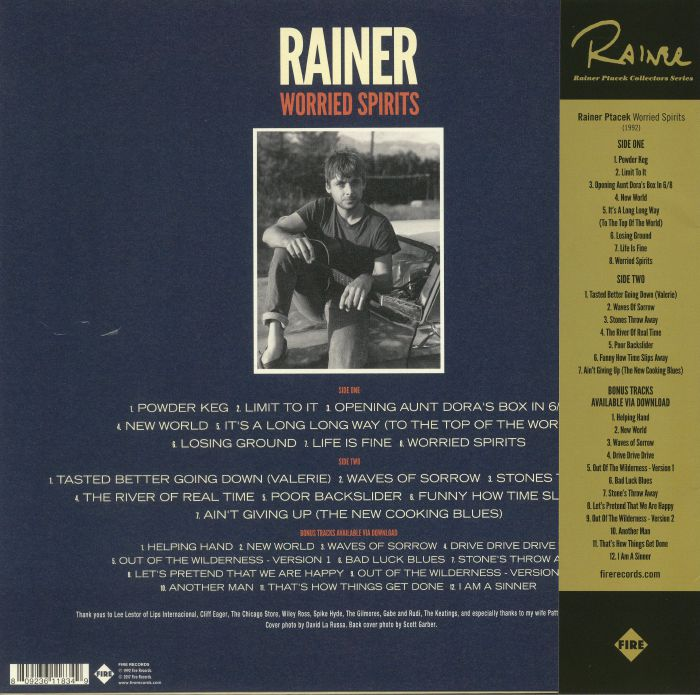 PTACEK, Rainer - Worried Spirits (reissue)