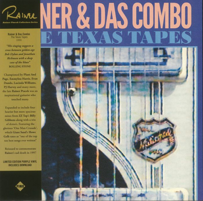 PTACEK, Rainer & DAS COMBO - The Texas Tapes (reissue)