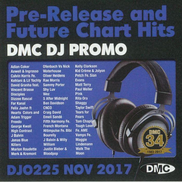 VARIOUS - DJ Promo November 2017: Pre Release & Future Chart Hits (Strictly DJ Only)