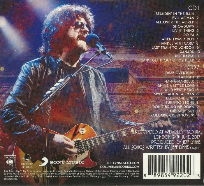 Jeff Lynne S Elo Wembley Or Bust Vinyl At Juno Records