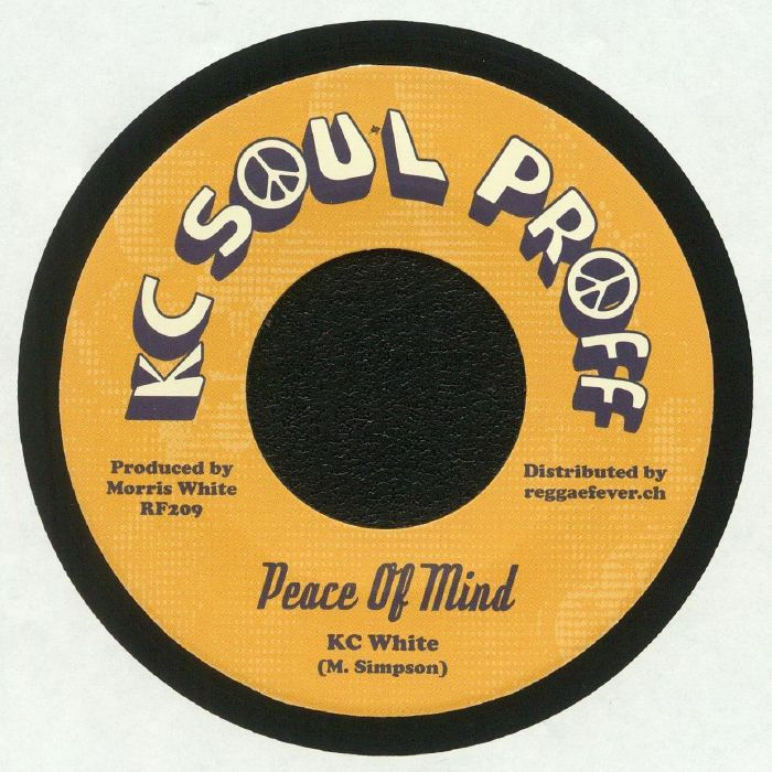 KC WHITE - Peace Of Mind