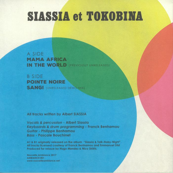 SIASSIA & TOKOBINA - Mama Africa