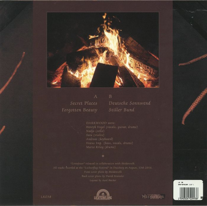 DARKWOOD - Erntefeuer