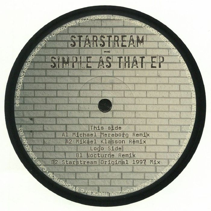 STARSTREAM - Simple As That EP