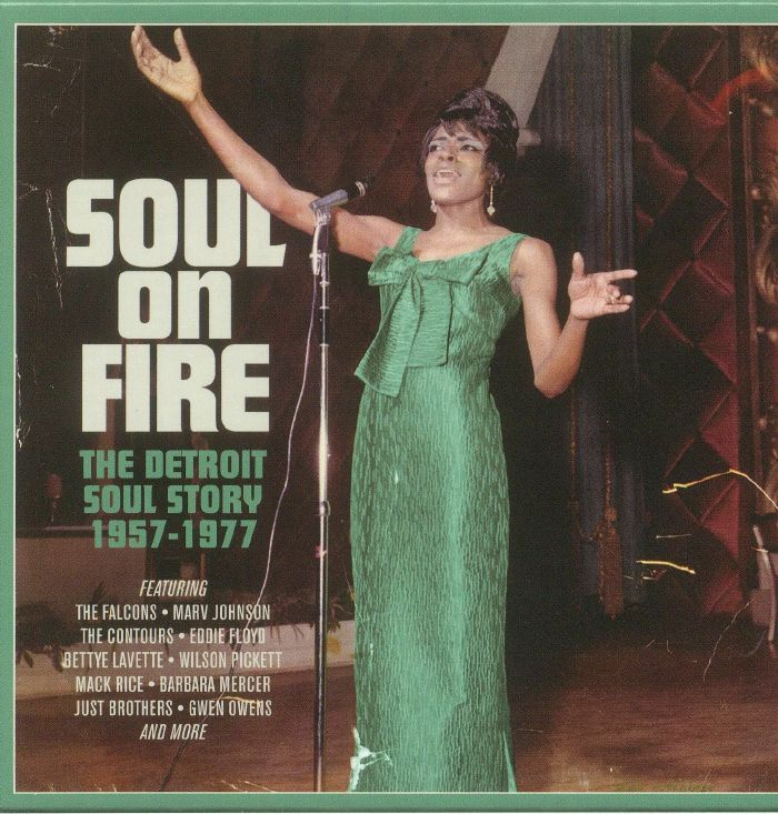 VARIOUS - Soul On Fire: The Detroit Soul Story 1957-1977