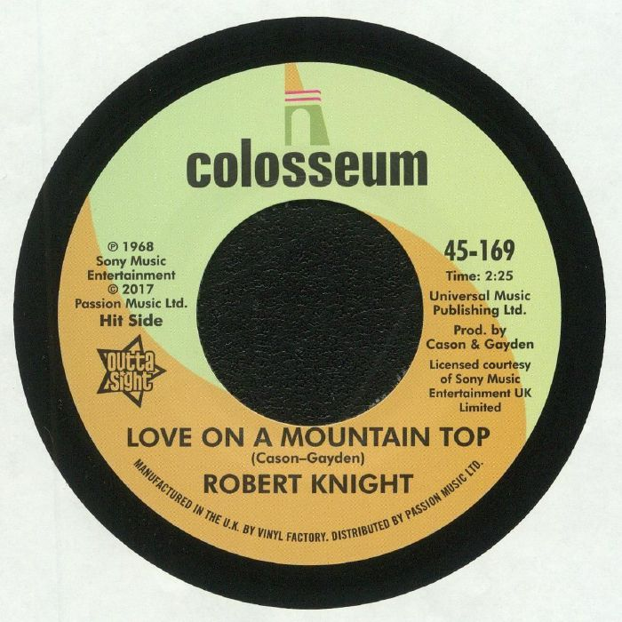 KNIGHT, Robert - Love On A Mountain Top