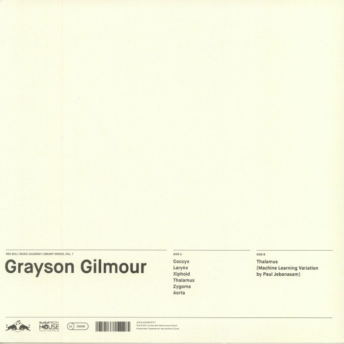 GILMOUR, Grayson - Red Bull Music Academy Library Series Vol 1
