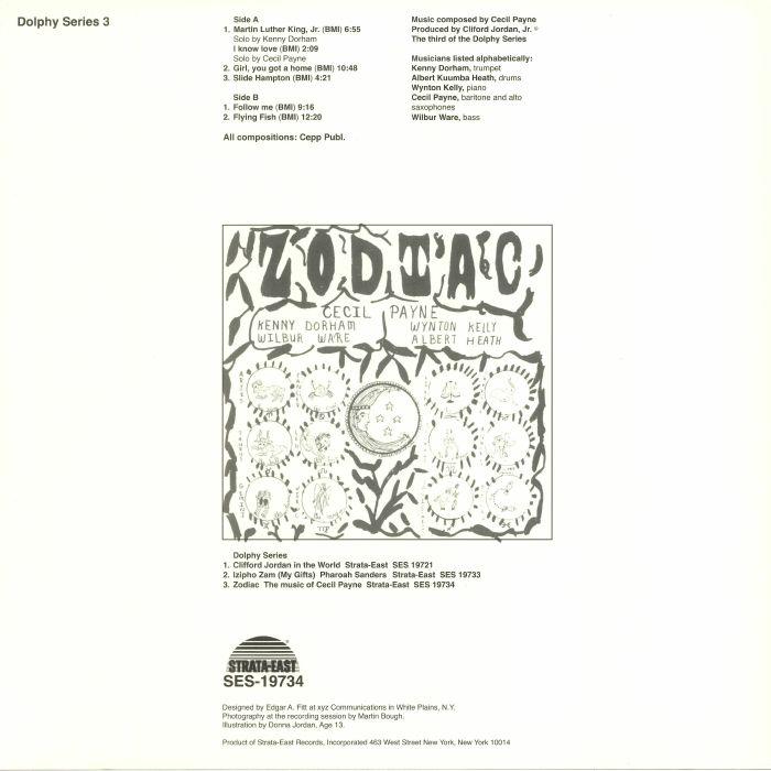 PAYNE, Cecil - Zodiac (remastered)