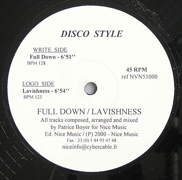 DISCO STYLE - Full Down