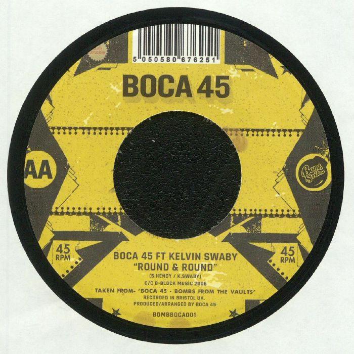 BOCA 45/MOHAWKESTRA - The Bear Pit