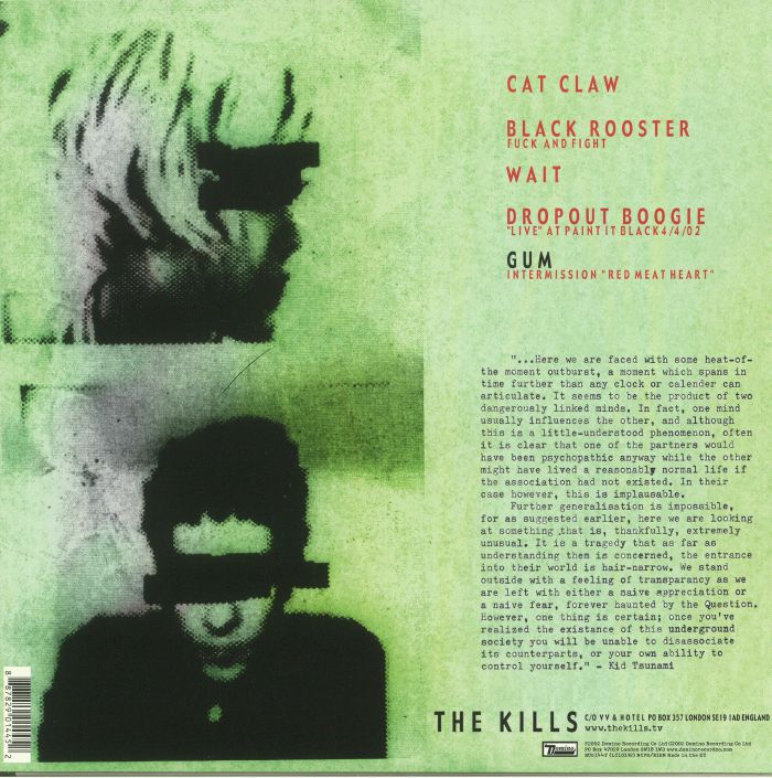 KILLS, The - Black Rooster EP (reissue)