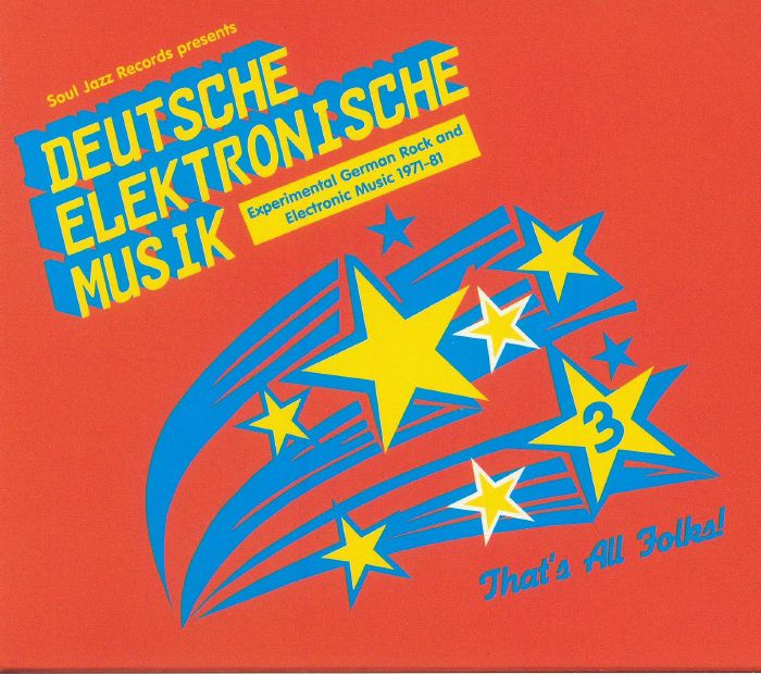 VARIOUS - Deutsche Elektronische Musik 3: Experimental German Rock & Electronic Musik 1971-81