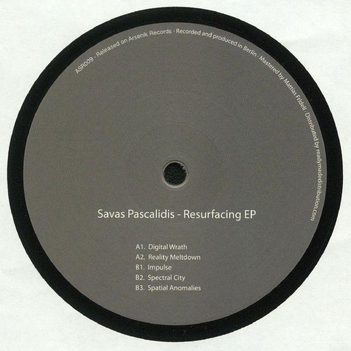 PASCALIDIS, Savas - Resurfacing EP