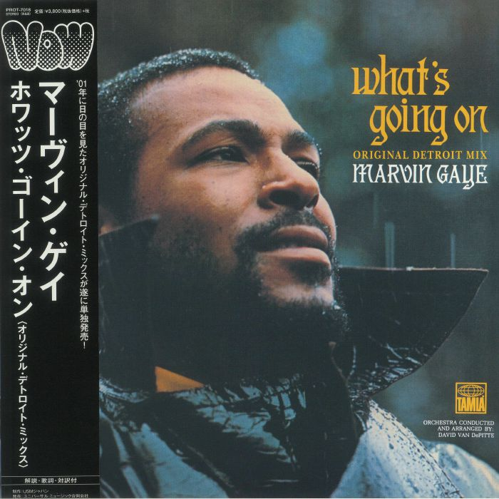 GAYE, Marvin - What's Going On: Original Detroit Mix