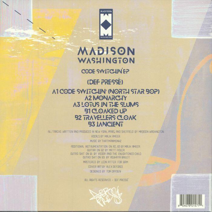 MADISON WASHINGTON - Code Switchin' EP