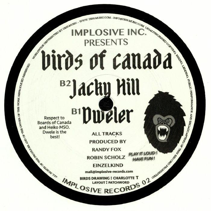 IMPLOSIVE INC - Birds Of Canada