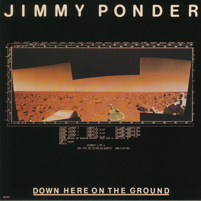 PONDER, Jimmy - Down Here On The Ground (warehouse find, slight sleeve wear)