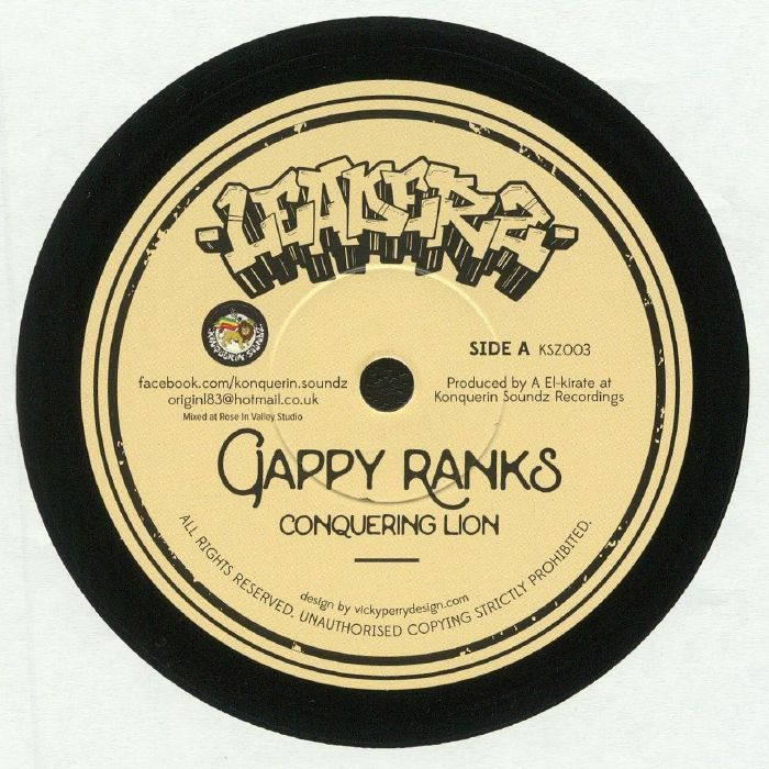 GAPPY RANKS/TENNA STAR - Conquering Lion