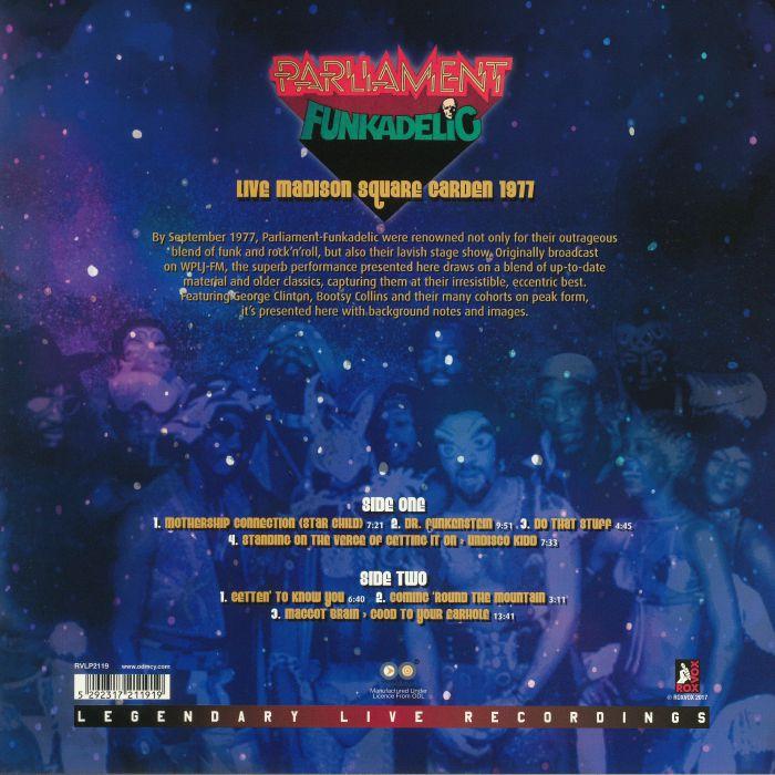 PARLIAMENT/FUNKADELIC - Live Madison Square Garden 1977