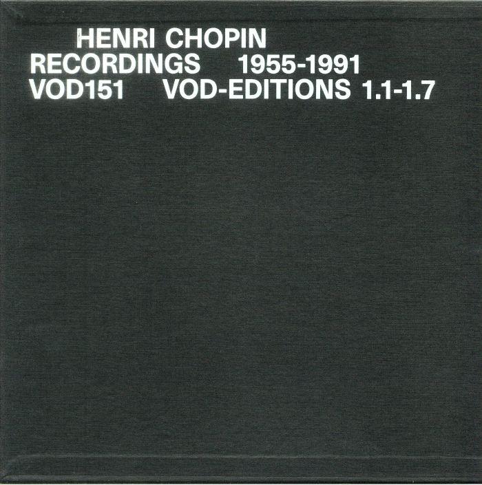 CHOPIN, Henri - Recordings 1955-1991 Vol 1 & 2