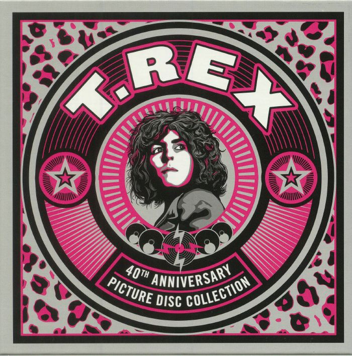 T REX - 40th Anniversary Picture Disc Collection
