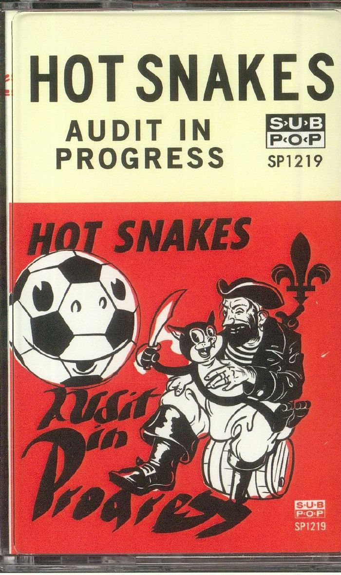 HOT SNAKES - Audit In Progress (reissue)