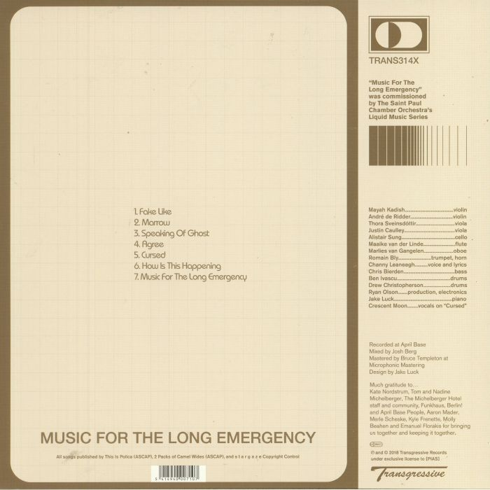 POLICA/STARGAZE - Music For The Long Emergency