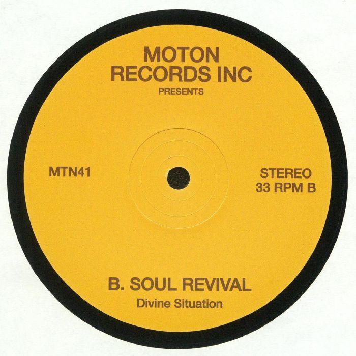 MOTON RECORDS INC - Divine Situation