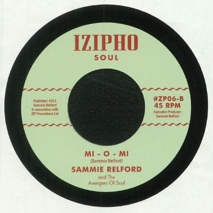 RELFORD, Sammie - Isn't It Amazing