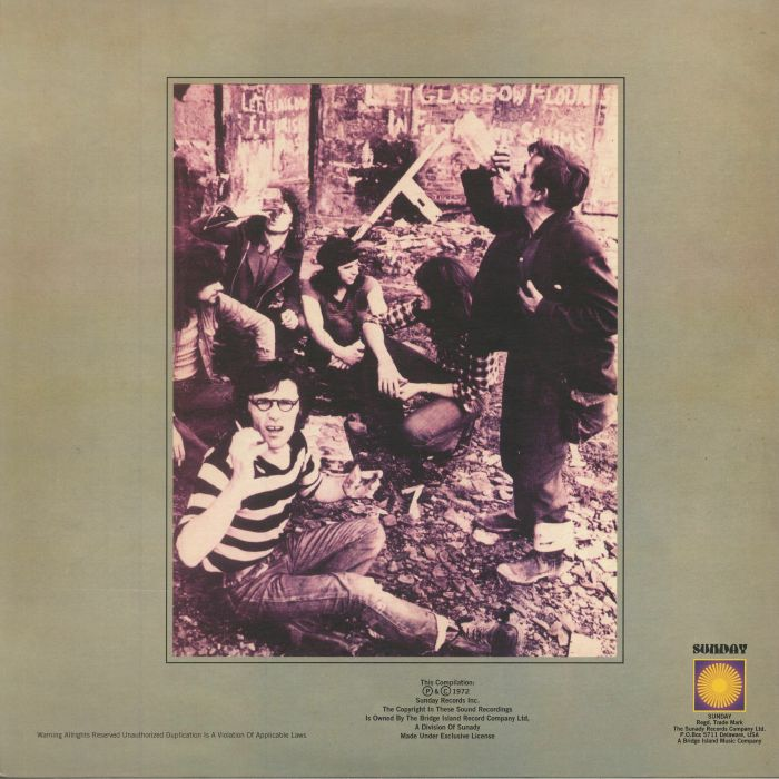 SENSATIONAL ALEX HARVEY BAND, The - Framed