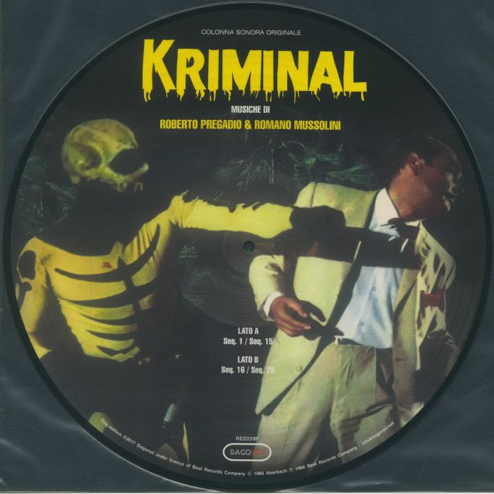 PREGADIO, Roberto/ROMANO MUSSOLINI - Kriminal (Soundtrack)
