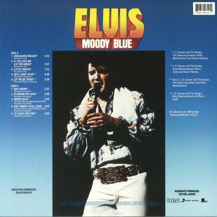 PRESLEY, Elvis - Moody Blue: 40th Anniversary