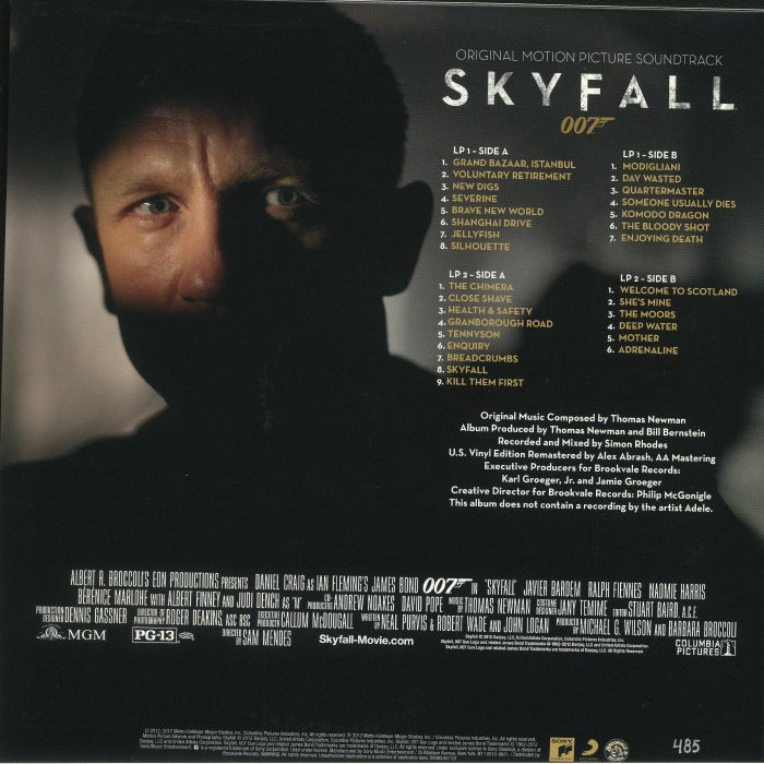NEWMAN, Thomas - Skyfall (Soundtrack)