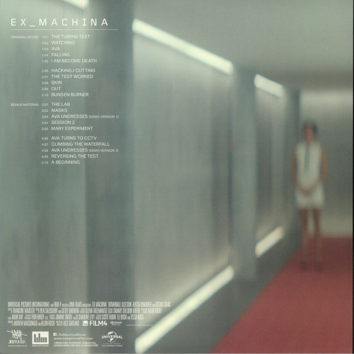 SALISBURY, Ben/GEOFF BARROW - Ex Machina (Soundtrack)