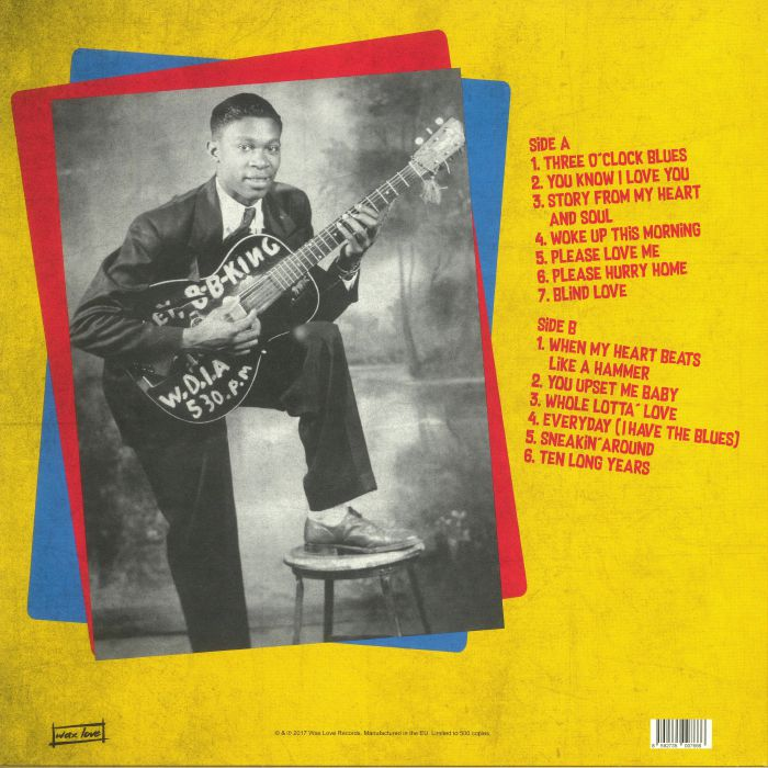 KING, BB - Story From My Heart & Soul: The Modern Label Singles 1957-1962