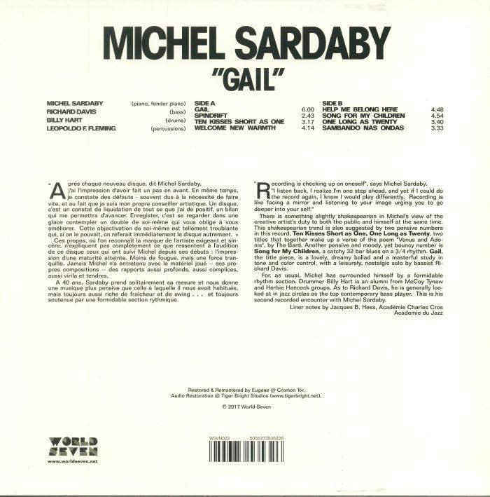 SARDABY, Michel - Gail