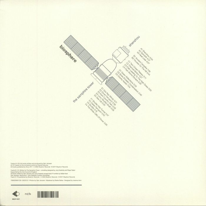 BIOSPHERE - Shenzhou (reissue)