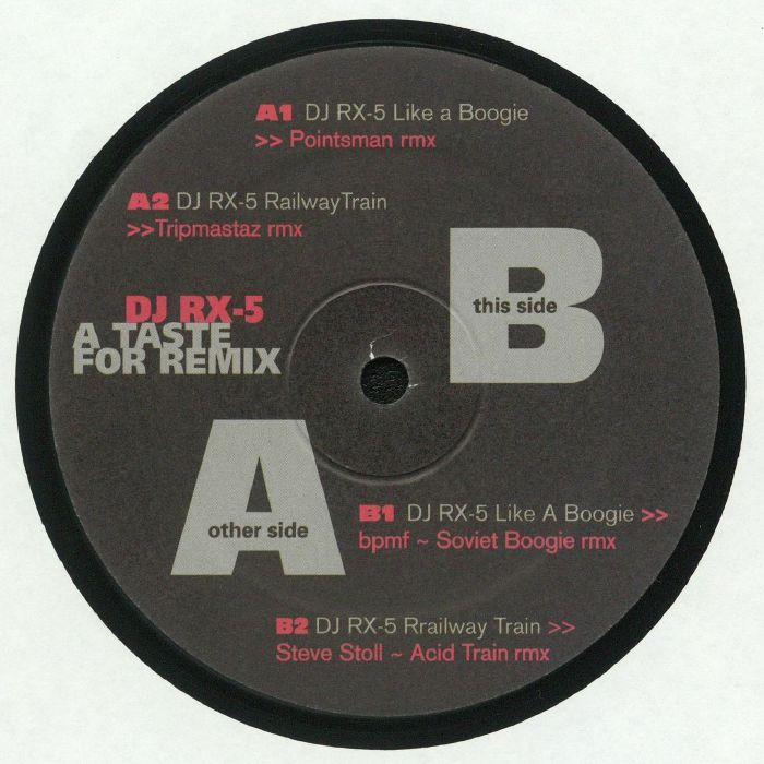 DJ RX 5 - A Taste For Remix