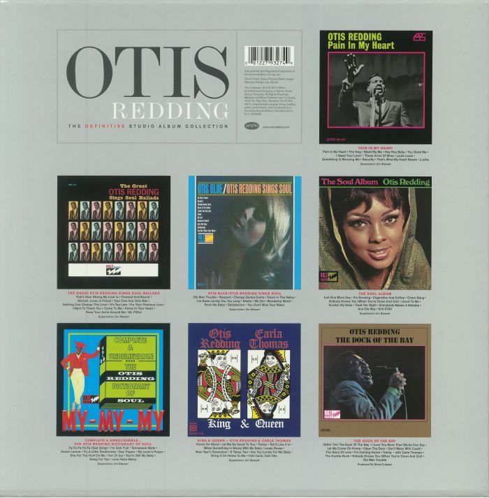 REDDING, Otis - The Definitive Studio Album Collection (mono)
