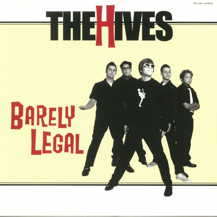 HIVES, The - Barely Legal (reissue)