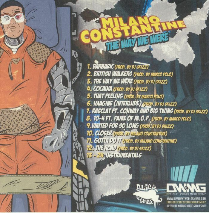 CONSTANTINE, Milano - The Way We Were: Expanded Edition